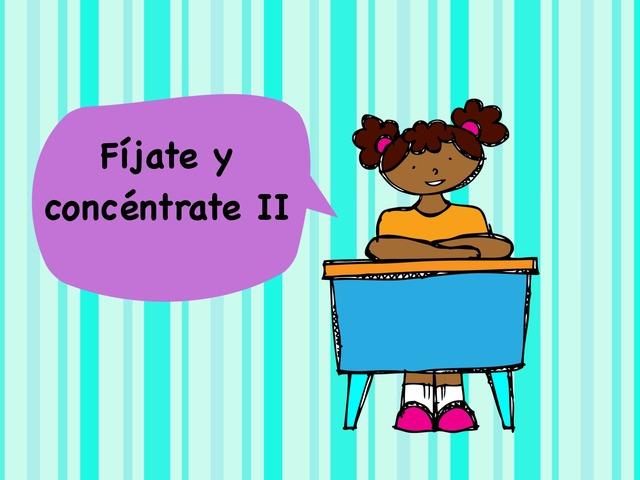 Fíjate y concéntrate  by Jose Sanchez Ureña