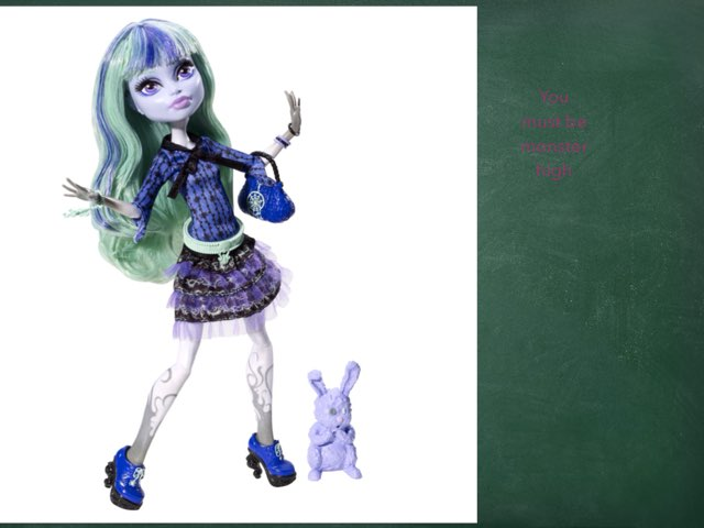 Must Be Monster High by Isabel Evans