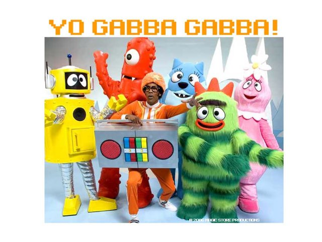 Yo Gabba Gabba--Full/empty by Kristin Meadows