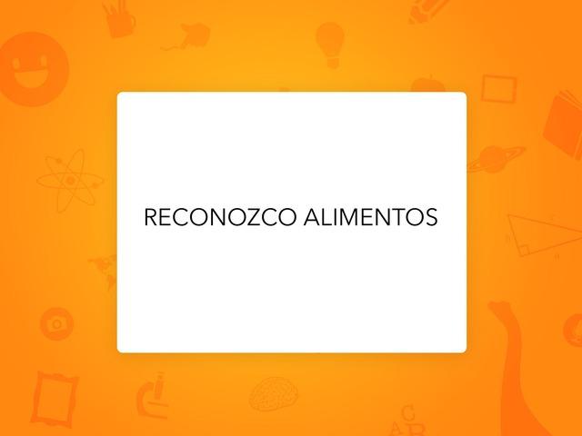 RECONOZCO ALIMENTOS by LAURA PARDO