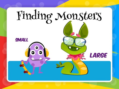 Finding Monsters - Large And Small by Cici Lampe