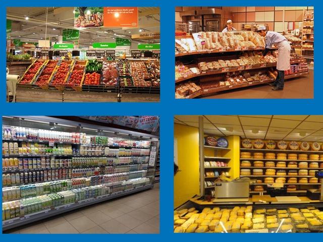 De supermarkt by Laura mos