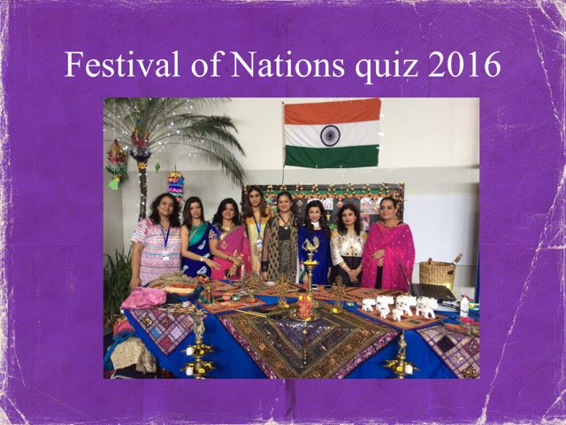 Festival Of Nations Quiz 2016 by Leslie Henry