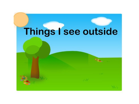 Things I See Outside by Teresa Grimes