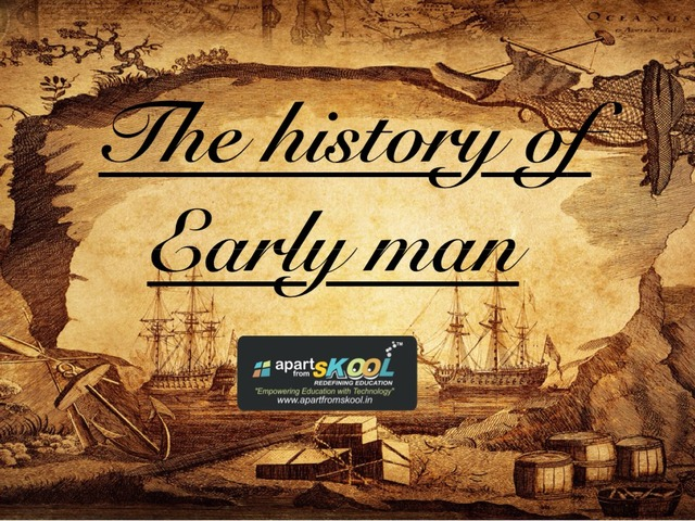 The History Of Early Man by TinyTap creator