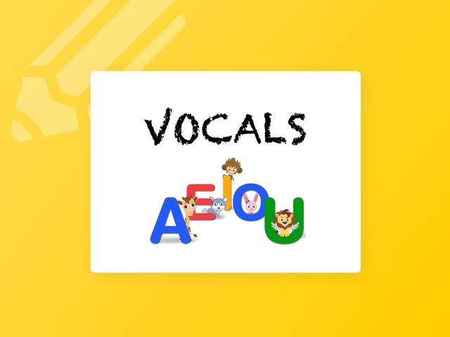VOCALS by Sara Párraga López