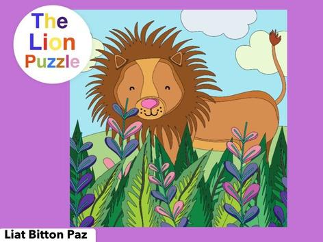 The Lion Puzzle  by Liat Bitton-paz