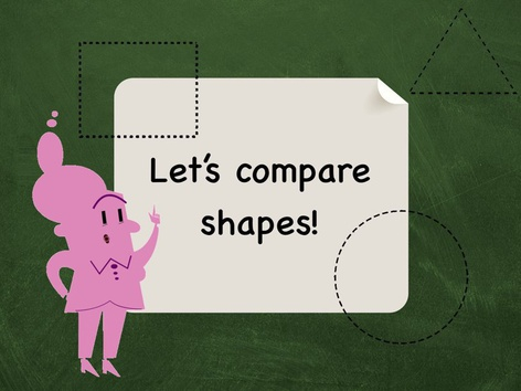 Comparing Shapes(1) by Andrea N. Lebron