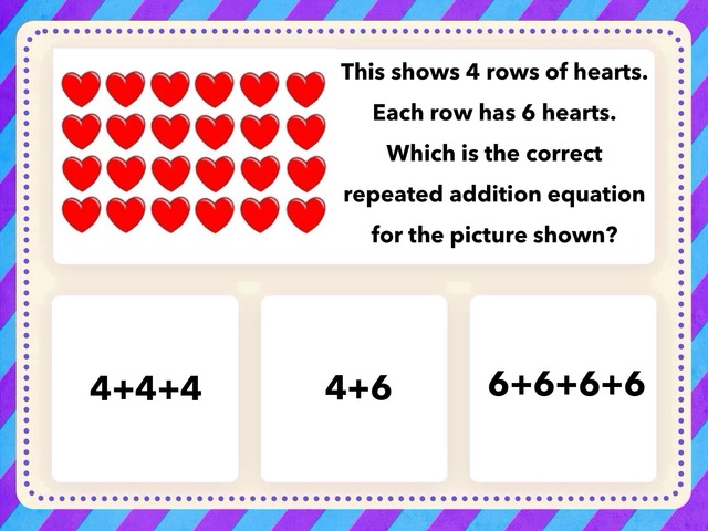 Arrays, Repeated Addition, Multiplication  by Tanya Folmsbee