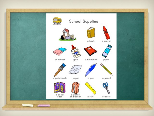 SCHOOL SUPPLIES by Cinthia Castro