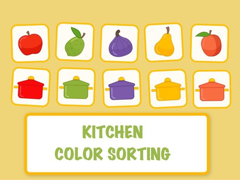 Kitchen Color Sorting by Hadi  Oyna