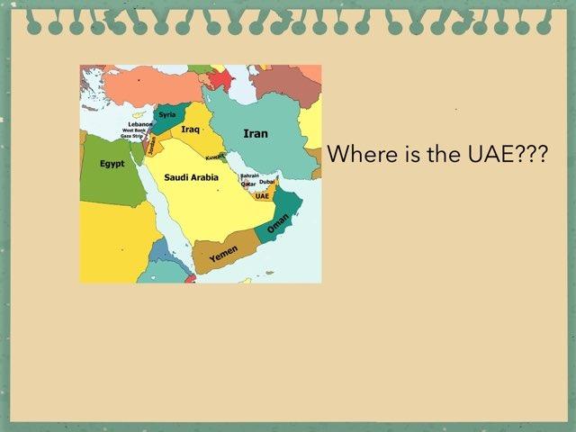 UAE  by Alia Mohammad