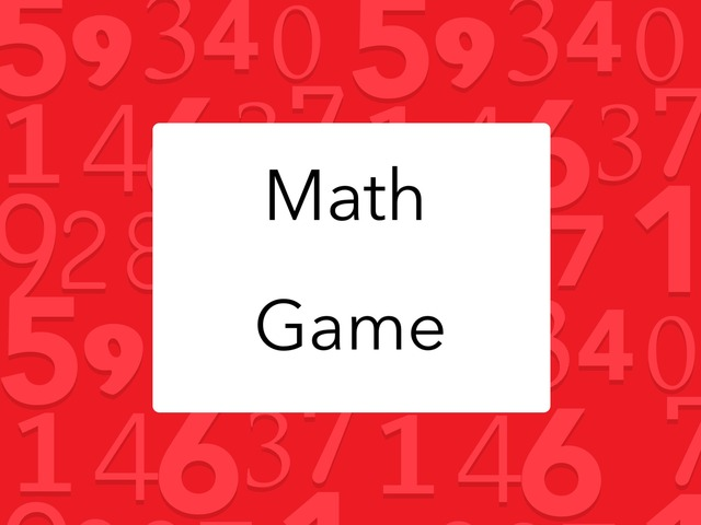 Math Game by The Invincibles