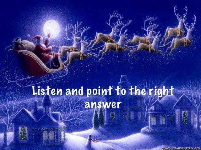 Christmas Pictionary by Anna Celardo