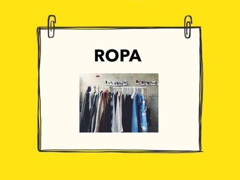 Ropa Escribir by Vale Vegas Huerta