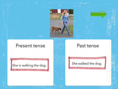 Verb Tense: Past And Present #1 by Carol Smith