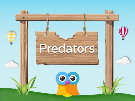 Wikids - Animals: Predators (EN UK) by Wikids