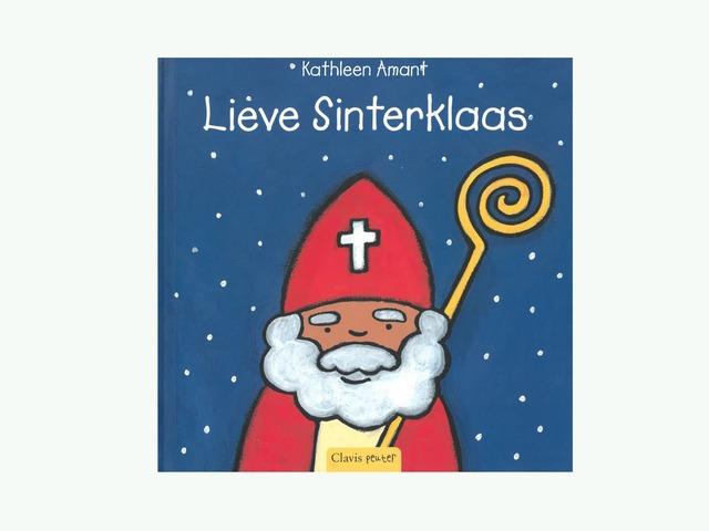 Digitaal Verhaal : Lieve Sinterklaas by Lien Swinnen
