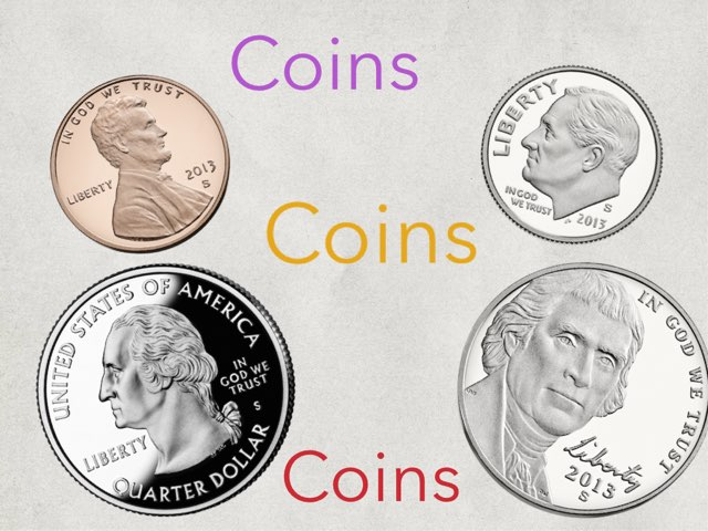 Coins by Edgemere Elementary