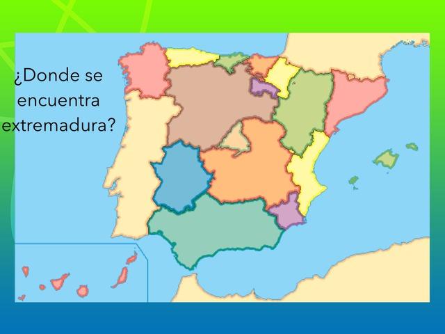 Comunidades Autónomas by Athenea Alcantara Martinez