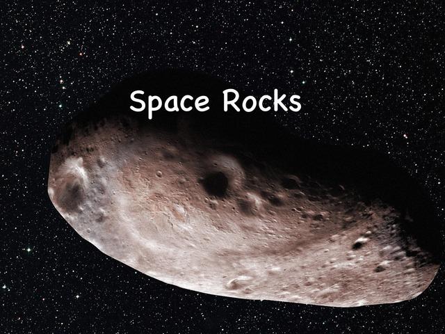 DPISD Space Rocks by Leslie Kilbourn