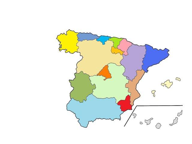 Comunidades Autonomas by Diego Guzman Sousa