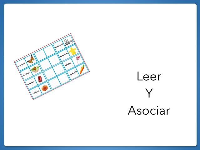 Leer Y Asociar by Zoila Masaveu