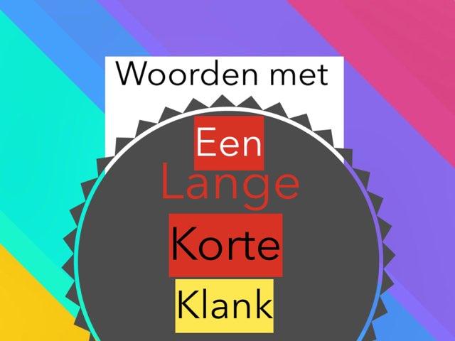 Lange En Korte Klank by Alwin Knijp