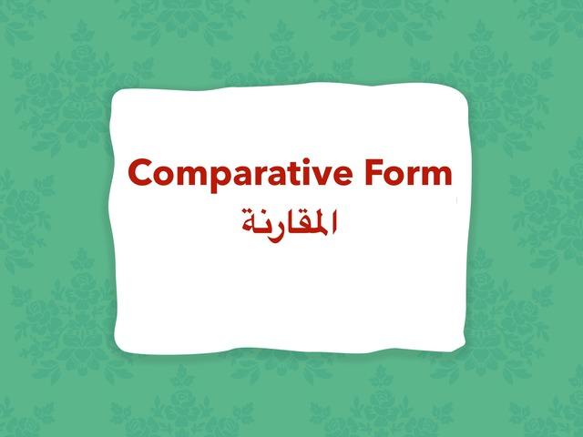 Comparative by Lama Ali