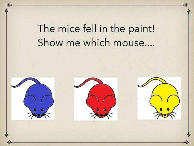 Mouse Paint Colors by Tyler Heckathorn