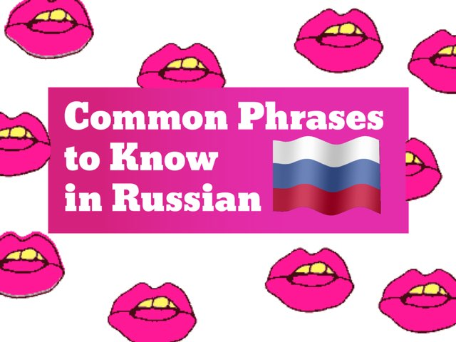 Common Words & Phrases To Know - Russian by Tiny Tap