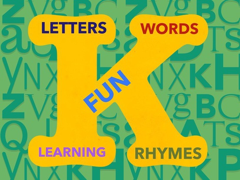 LETTERS, WORDS, FUN, RHYMES AND LEARNING by Claudia Sawada