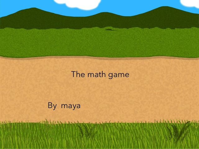 The Math Game by Maya Reilly