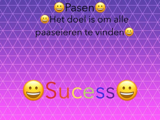 Zoek De Paaseieren by Romy van der Wel