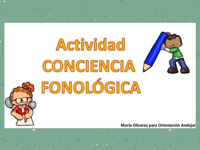 CONCIENCIA FONOLÓGICA  by Zoila Masaveu