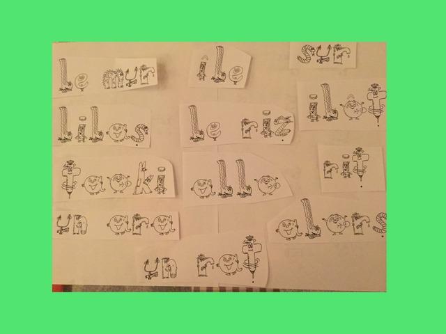 Retrouve Les Mots Enonces By Sandrine Bouteille Educational Games For Kids On Tinytap