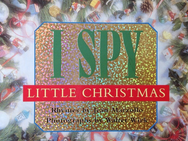 I Spy Little Christmas by Lori Board
