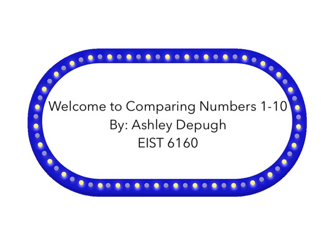 Comparing Numbers by Ashley DePugh