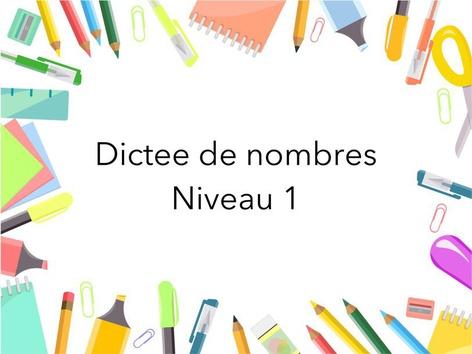 Dictées De Nombres Mau  by Fabien EMPRIN