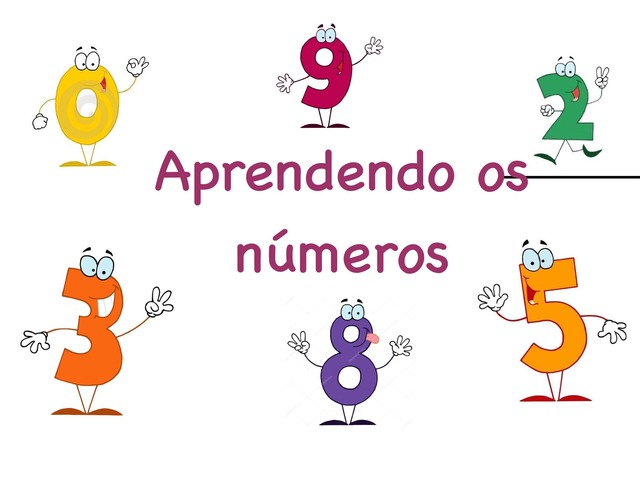 Aprendendo Os Números by Juliana Salvadori