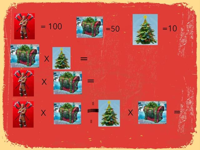 Fortnite Maths Quiz by Gemma Clarke