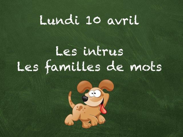 A - Lun10 - Intrus Et Familles  by Caroline Gozdek