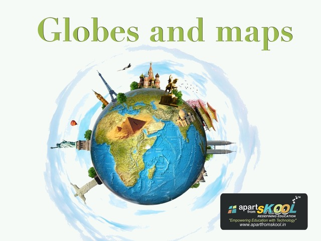 Globes And Maps New by TinyTap creator