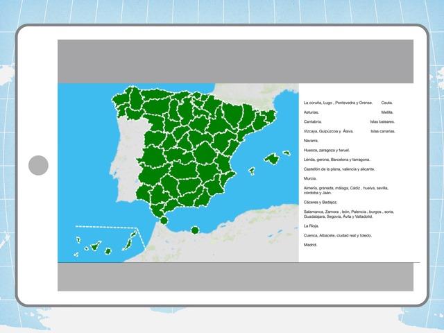 Provincias. by Amaya Sanchez Arias