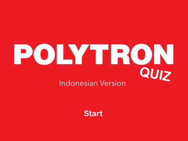 POLYTRON Quiz by Allene Anabelle Lukito