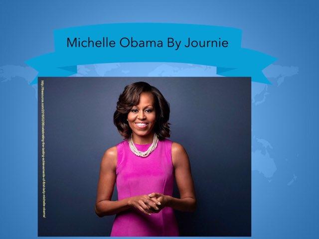 Michelle Obama By Journie by Christine Snow