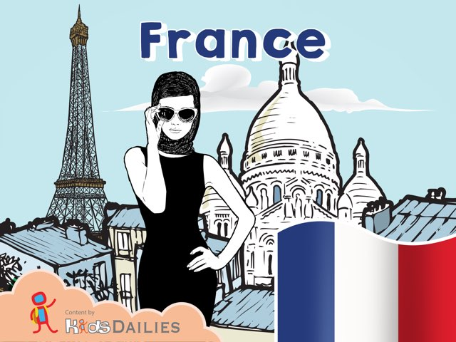France by Kids Dailies