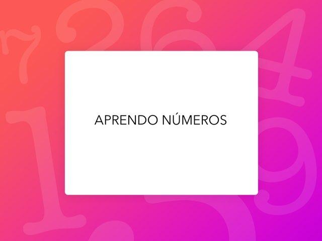 APRENDO NÚMEROS by LAURA PARDO