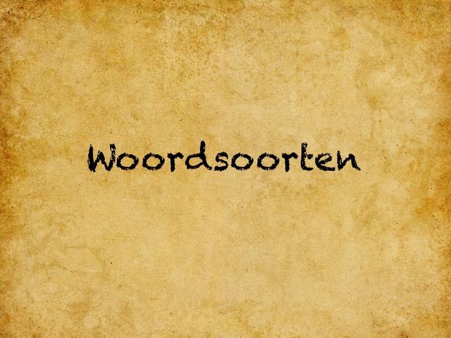 Woordsoorten en woorden met g of ch by Stedelijke Basisschool Hasselt