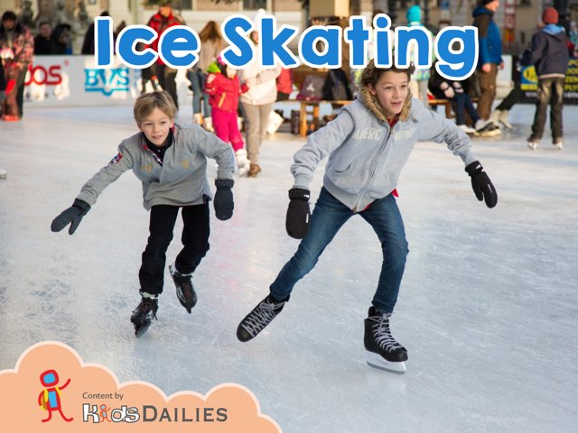 Ice Skating by Kids Dailies